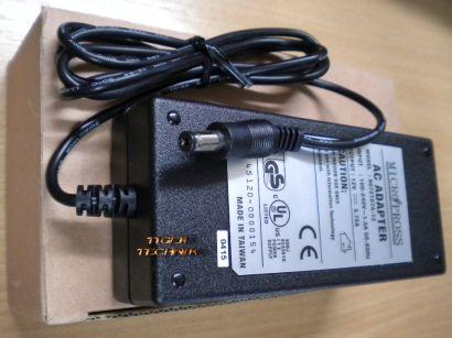 Micropross AC Adapter Model 9072107A-12 Netzteil 12V 3.75A* nt402