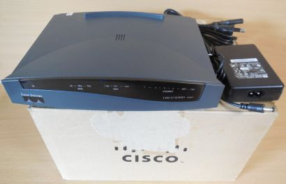 Cisco Soho 96 ADSL über ISDN Security Router Soho Series 92.0632.01 Rev 2* nw304