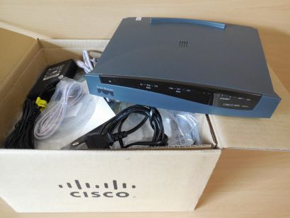 Cisco 836 ADSL über ISDN Security Router Series 800A 92.0632.01 Rev 2* nw302