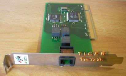 ISDN FRITZ!Card PCI AVM ISDN Controller FCPCI111098 9.00200.557 0000 FAX* nw16