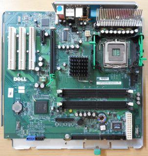 Dell OptiPlex GX280 Mainboard auf Schiene 0G5611 Rev. A02 G5611 Sockel 775* m02