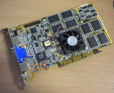 Asus AGP-V3800/32M (TV) Grafikkarte AGP4x 32MB VGA TV-IN TV-Out RCA VR-Out g27