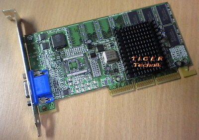 ATI Rage 128 Ultra Grafikkarte AGP 4x 32MB 109-78200-00 VGA g25