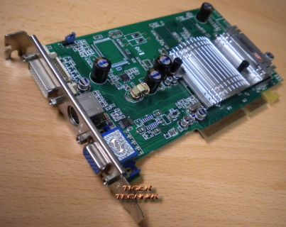 SAPPHIRE 9600 Atlantis 128M ATI Radeon 128MB 128-Bit DDR AGP VGA DVI TV* g227