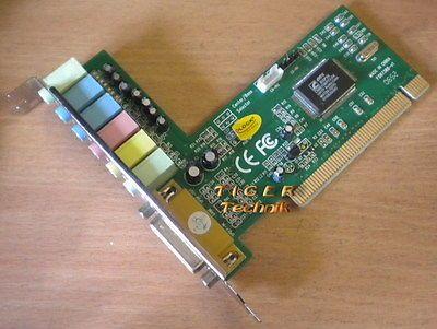 Delock CMI8738 8-Channel 7.1 Soundkarte PCI FS87388-v1 s31