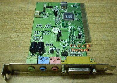 ESS Solo-1 PCI Soundkarte ES1938S TT-Solo01 z.B. für Windows XP s02