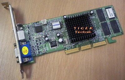 Gainward nVidia GeForce2 MX Grafikkarte AGP4x 64MB V06-A1 VGA TVOut RCA g22