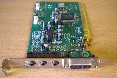 Labway xWave 4000 A511-P70 PCI Soundkarte mit ALS4000 Chip bis Windows XP s20