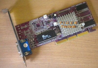 TNT2 M64 nVidia Riva TNT2 Grafikkarte AGP 4x 32MB SDRAM VGA  g24