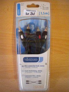 Teccus by Vivanco S-VHS Verlängerung Kabel Mini-DIN-St.-Mini-DIN-Ku 2m*so194