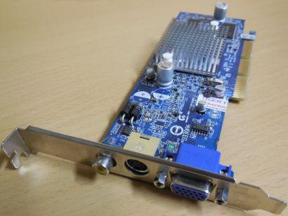 Gigabyte GV-R92S128T 9200 SE AGP 8x Grafikkarte 128MB VGA TV-Out RCA* g52