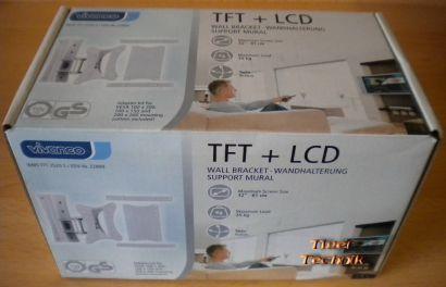 """Vivanco TFT + LCD Wandhalterung bis max. 32"""" entspricht 81cm bei 25Kg *so247"""