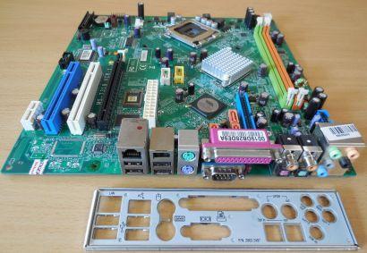 MSI MS-7318 Ver1.1 Medion MD 8818 8822 Mainboard +Blende Sockel 775 mBTX* m165
