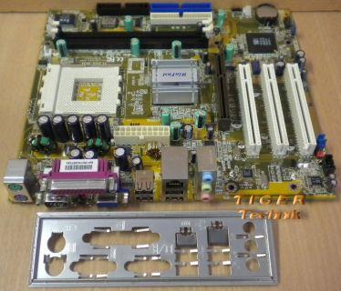 Foxconn WinFast K7S741MG-6L 741M01C-G-6L Mainboard Sockel 462 + Blende* m186