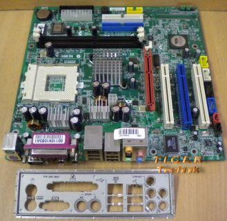 MSI MS-7027 Ver. 2.0 Mainboard Sockel 462 AGP PCI Sound 5.1 + Blende* m187