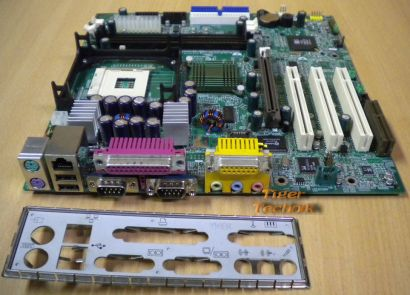 MSI MS-6533E Ver. 1 Mainboard Sockel 478 PCI AGP CNR 2x Seriell + Blende* m199