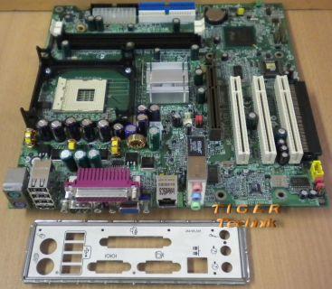 HP 289767-001 287579-102 MSI MS-6541 Ver. 1 Mainboard So. 478 + Blende* m392