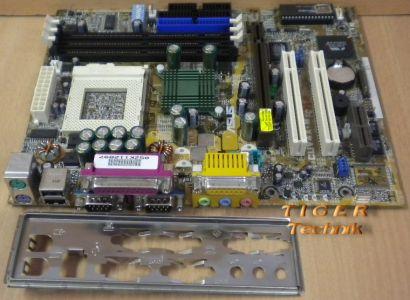 Asus CUV4X-M Rev. 1.02 Mainboard Sockel 370 AGP PCI AMR + Blende* m230