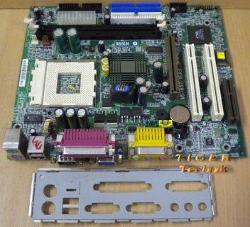 MSI MS-6511 Ver. 1 Mainboard Sockel 462 AGP PCI CMR LAN + Blende* m240