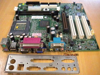 HP 213855-101 203966-001 Mainboard Sockel 370 AGP PCI VGA + Blende* m285