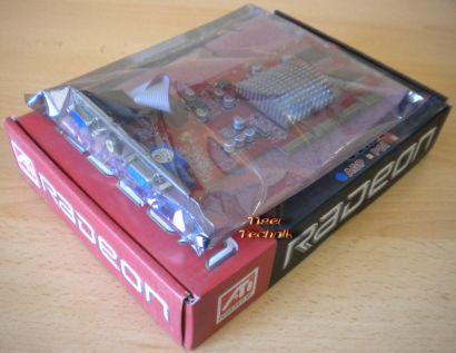 ATI Radeon R7000 AGP 8x 64MB 64Bit PC Grafikkarte NEU OVP* g136