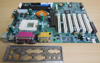 MSI MS-6330 K7T Turbo Ver. 3 So. 462 AGP 6x PCI CNR 2x Seriell + Blende* m302
