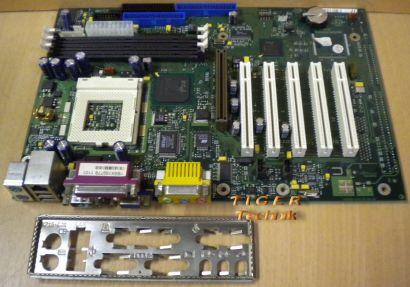 Fujitsu Siemens D1219-A21 GS 3 Mainboard Sockel 370 AGP PCI + Blende* m305