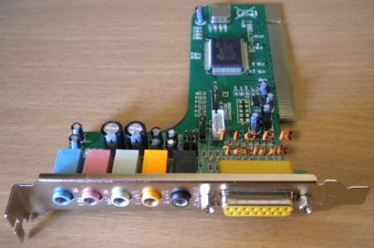 CMI8738 PCI 6ch LX  HRTF 3D Audio Sound Karte* s47