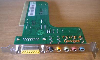 CMI8738 PCI 6ch LX  HRTF 3D Audio Sound Karte* s47
