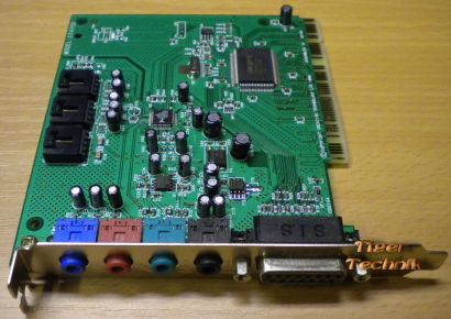 Creative Sound Blaster 128 CT4750 4 Channels 16-bit 48KHz PCI Soundkarte* s52
