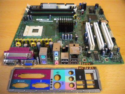 Dell CN-0U2575 Mainboard Optiplex 170L Sockel 478 PCI VGA LAN + Blende* m316