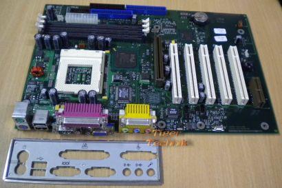 Fujitsu Siemens D1184-B11 Mainboard Sockel 370 AGP PCI AMR + Blende* m330