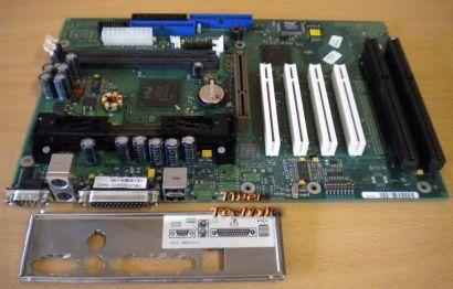 Fujitsu Siemens D1141-A11 GS 2 Mainboard + Blende Slot 1 AGP PCI 2x ISA* m336