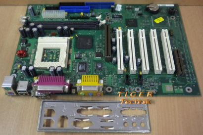 Fujitsu Siemens D1217-B10 GS 3 Mainboard +Blende Sockel 370 AGP PCI Audio* m347