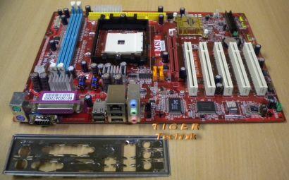 MSI MS-7030 Ver. 20C Mainboard K8N Neo V2.0 Sockel 754 AGP PCI + Blende* m349