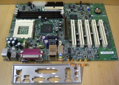 Intel D815EEA2 Mainboard A52399-803 Sockel 370 AGP PCI VGA + Blende* m358
