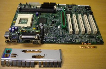 Intel D815EEA Mainboard MY-02336V Sockel 370 AGP PCI Seriell USB + Blende* m364