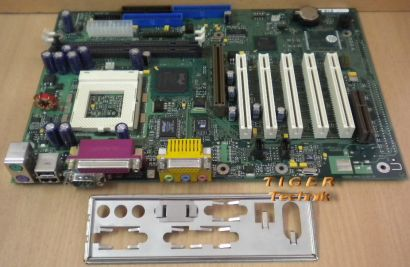 Fujitsu Siemens D1217-B32 GS 2 Mainboard So. 370 AGP PCI CNR + Blende* m380