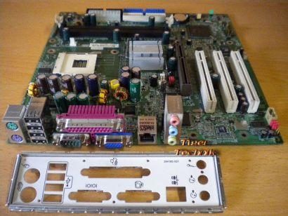 HP 289767-001 287579-101 MSI MS-6541 Ver. 1 Mainboard So. 478 + Blende* m229