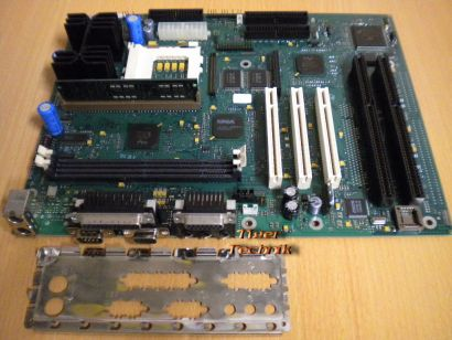 FSC D990-E11 GS2 ATX Mainboard +Blende Sockel 7 2x ISA VGA Audio PCI SDRAM* m396