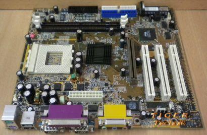 Chaintech 7AIA0-E10AC Mainboard Sockel 462 AGP PCI 2x Seriell + Blende* m399
