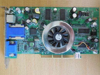 Medion MSI MS-8889 nVidia GeForce4 TI4200 AGP8x 128MB VGA S-Video TVOut* g240