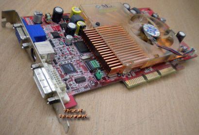 MSI Ti4200-VTD8X NVIDIA GeForce4 Ti 4200 DDR 128 MB AGP x8 VGA DVI* g172