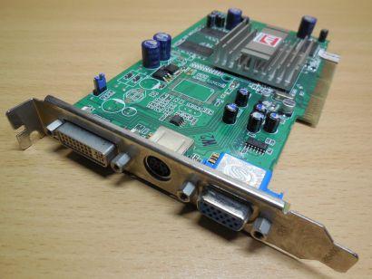 Sapphire 1024-TC13-05-SA ATI Radeon 9250 DDR 256 MB AGP x8 VGA VID OUT DVI* g187