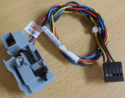 HP Power Schalter PN 537333-001 & HDD Power LED für HP G5000 Serie PC usw* pz61