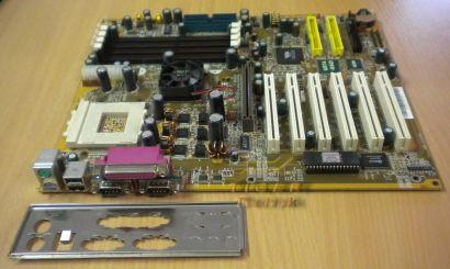 Abit KR7A-RAID Mainboard +Blende Sockel A 462 IDE-RAID AGP 6x PCI SD-RAM* m42