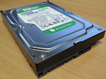 WD Caviar Green WD5000AADS-00S9B0 Festplatte HDD 3,5 SATA 500GB* f598