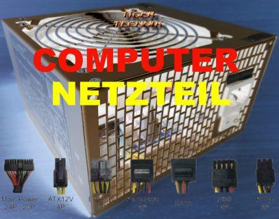 Rasurbo 450 Watt ATX Netzteil BP-XII450 450W PC Computer Netzteil* nt30