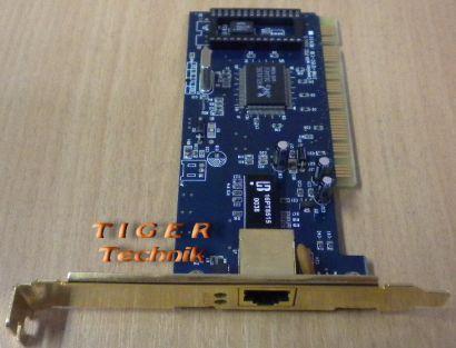 Realtek RTL8139C 10-100Mbps LAN-Netzwerkkarte-goldene Blende* nw07