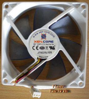 Xen.Core JT9225L12S Carboon Gehäuselüfter Kühler Lüfter PC Computer Weiss* GL84
